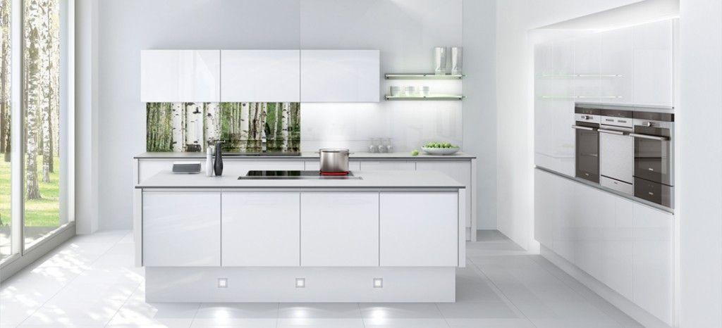 Muebles de cocina blancos un color barato elegante y - Singular kitchen madrid ...