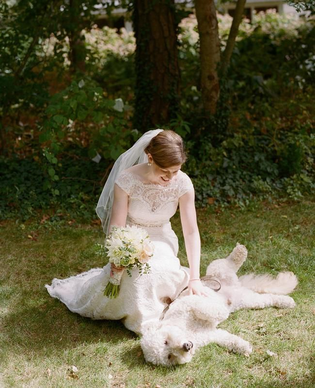 A Bride and Her Best (Furry) Friend