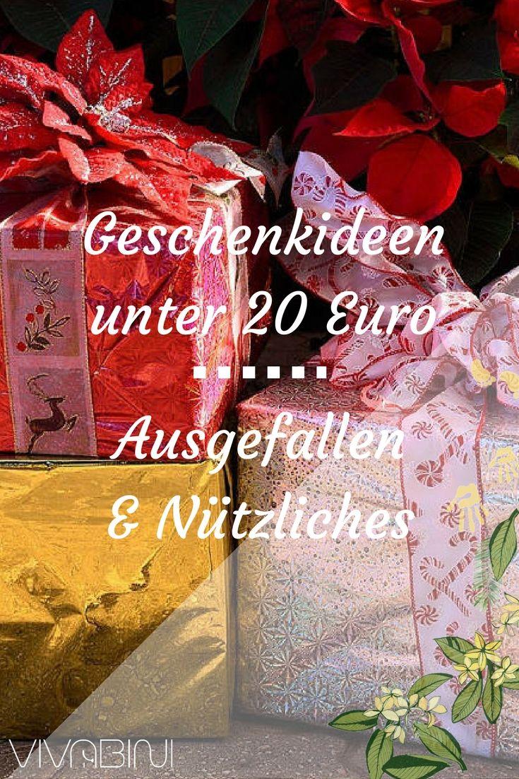 Geschenkidee 20 euro