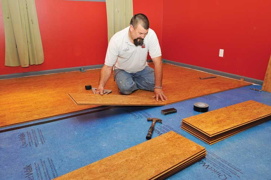 Cork Works Installing Cork Flooring Cork Flooring Flooring