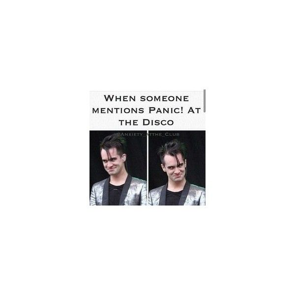Panic! At The Disco ❤ liked on Polyvore featuring accessories, quotes, bands, memes, text, phrase and saying