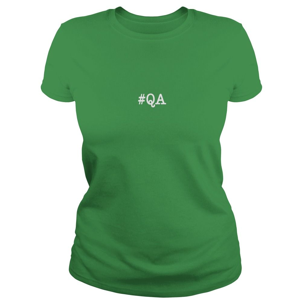 Hashtag Quality Assurance Qa  Job Description Shirt Gift Ideas