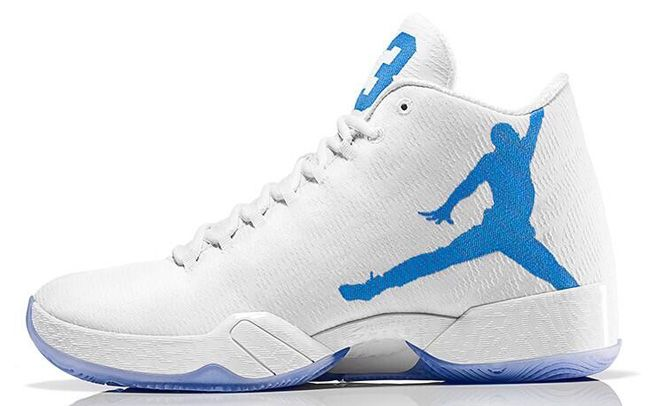 sale retailer 0fbaa e1b6e Air Jordan XX9 (Russell Westbrook PE) White   Blue