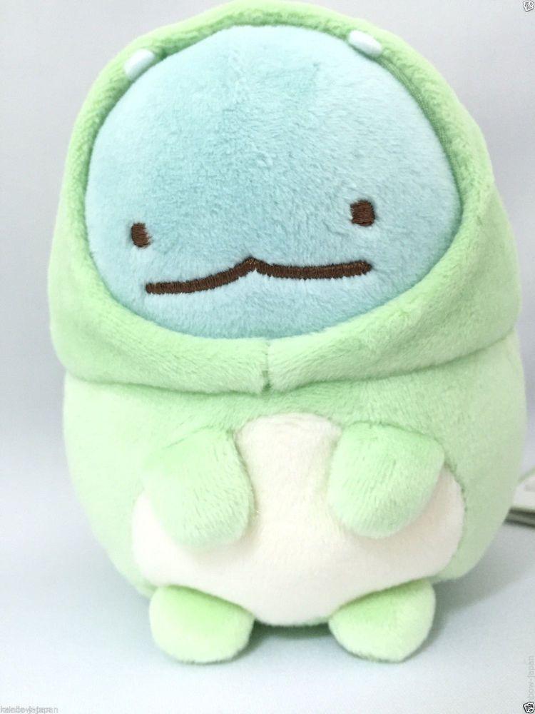 San X Sumikko Gurashi Tokage Lizard Plush Doll Kawaii Anime Japan