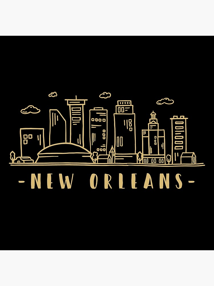 New Orleans Skyline Travel Canvas Print By Duxdesign New Orleans Skyline Travel Canvas New Orleans