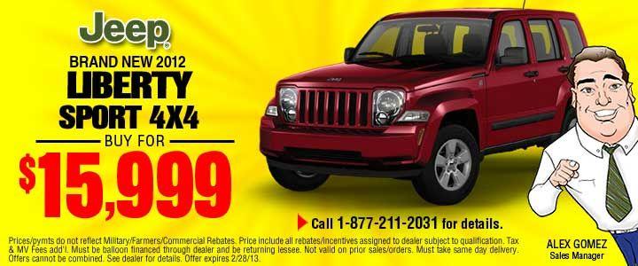 Garden City Jeep Chrysler Dodge Car Dealership Serving Long