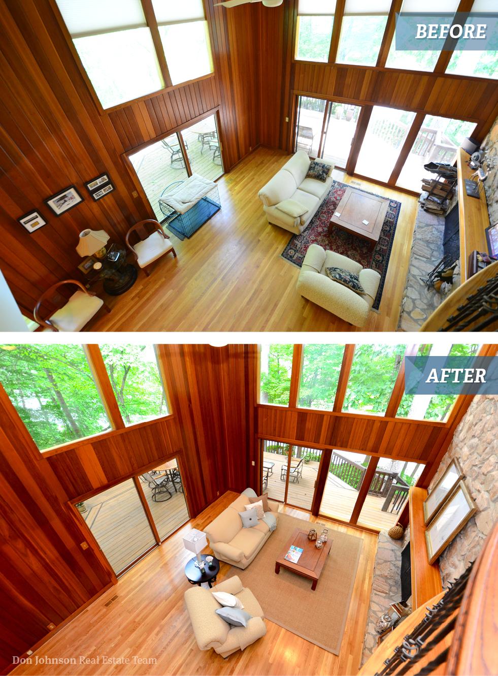 216 Edinburgh Living Room | Don Johnson Real Estate Team