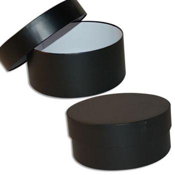 Mod Box Rigid Set Up Boxes Large Black Large Black Settings Round Box