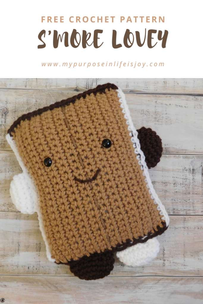 Crochet S\'more Lovey l Free Pattern and Step-by-Step Instructions ...