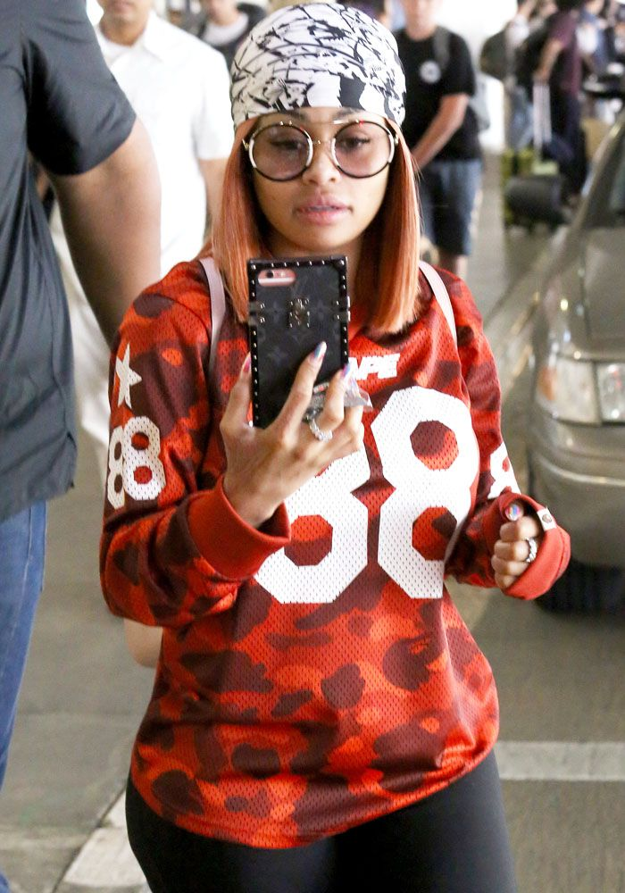 7fa34048090 Blac Chyna arriving at Los Angeles International Airport (LAX) in Los  Angeles