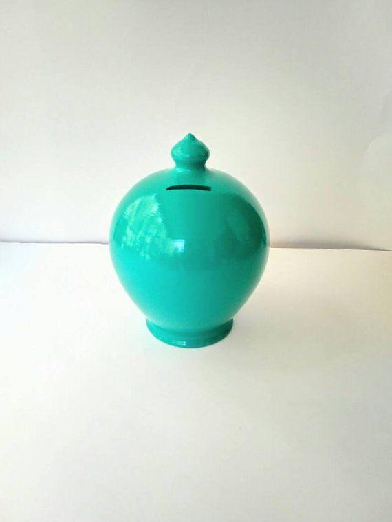My first piggy bank large coin jar little boy piggy bank for Coin arredamento