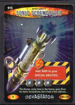 Doctor Who Battles in Time Devastator series trading card