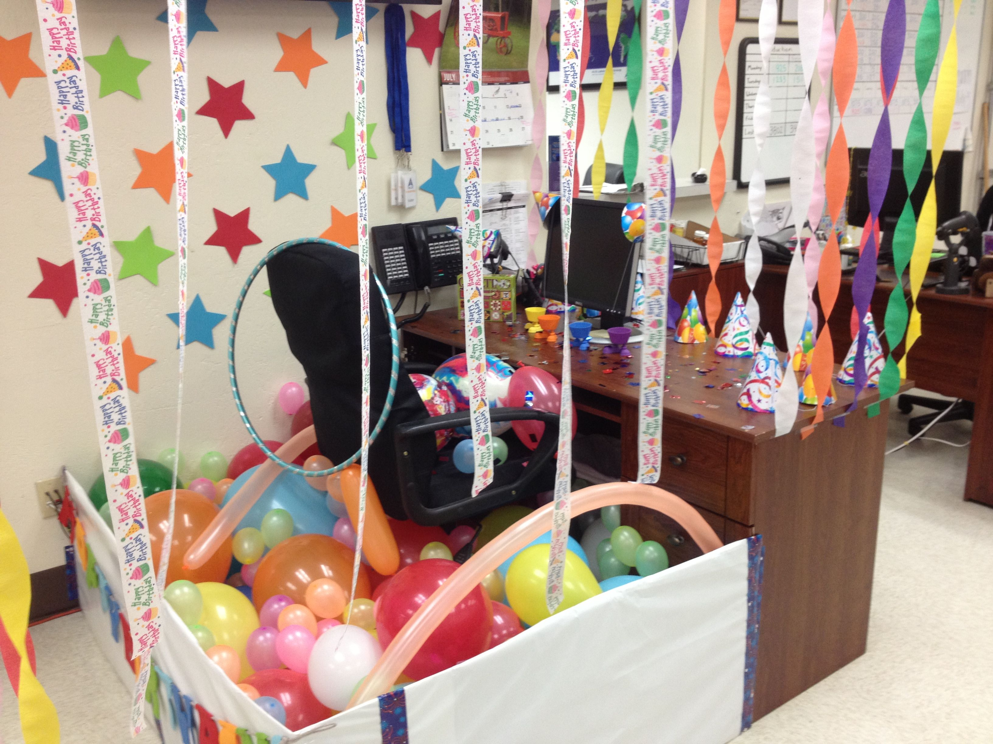 how to decorate a cubicle for 50th birthday joy studio