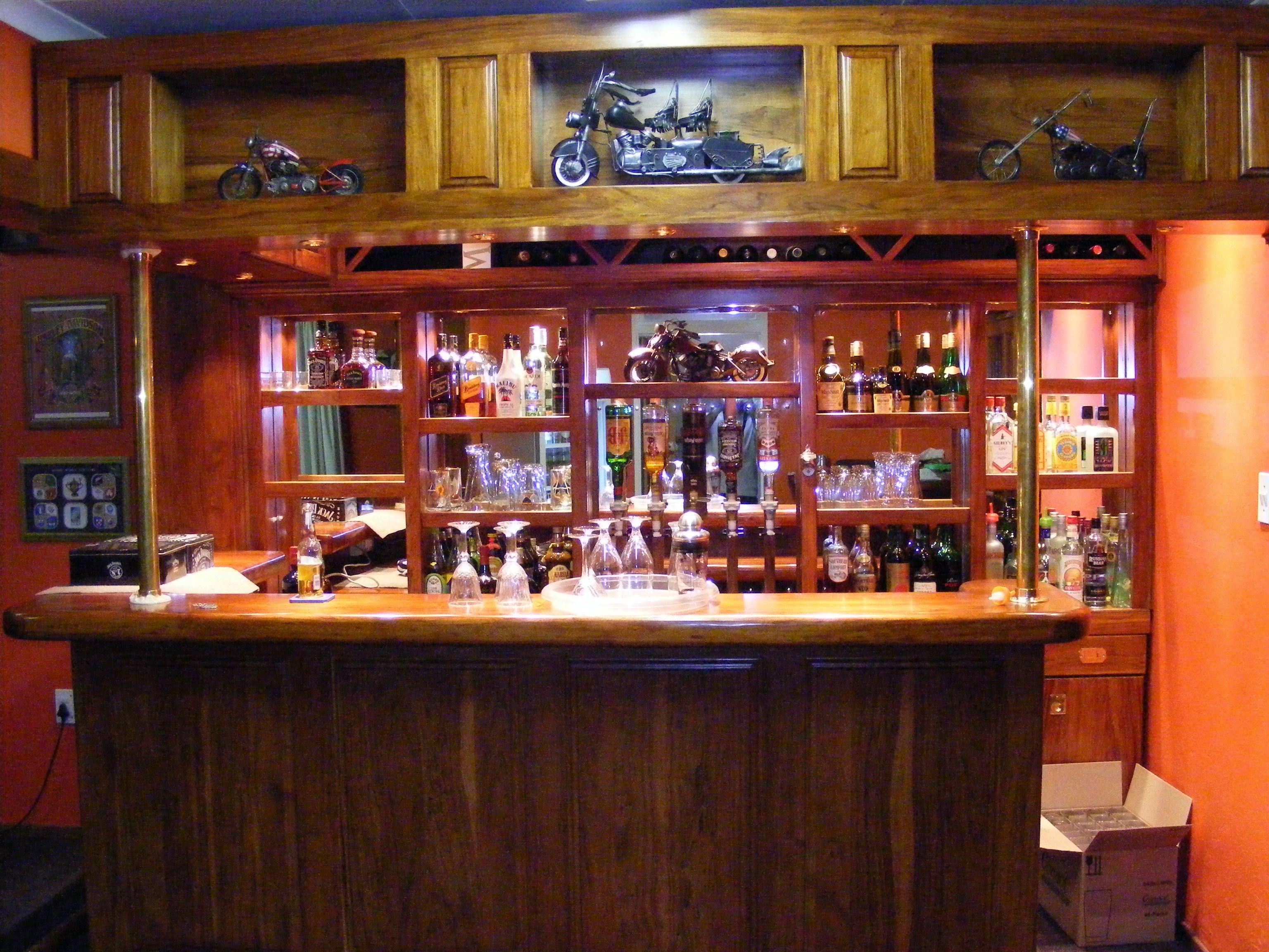 Rhodesian Teak Bar   Sleeper Wood Furniture   Pinterest
