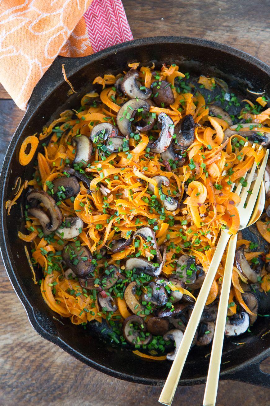 Sweetpotato Noodles