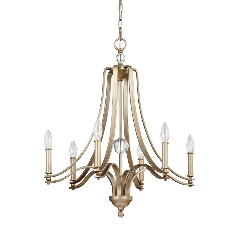 Shop Feiss F3075 6SG Evington 6 Light Chandelier At ATG Stores Browse Our