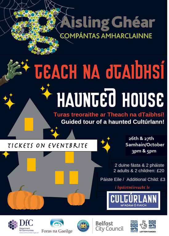 Aisling Ghéar Theatre Co is taking over the Cultúrlann for