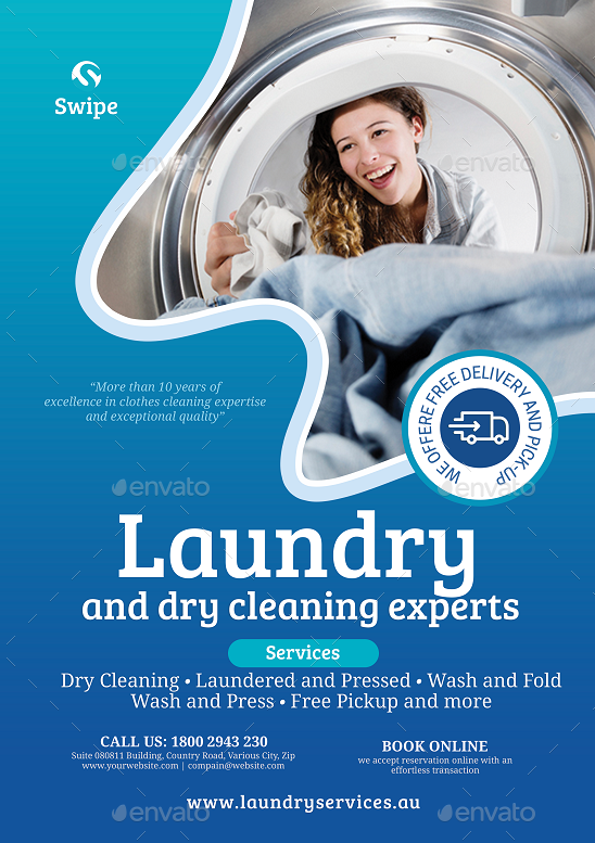 Laundry and Dry Cleaning Services Dry cleaning services