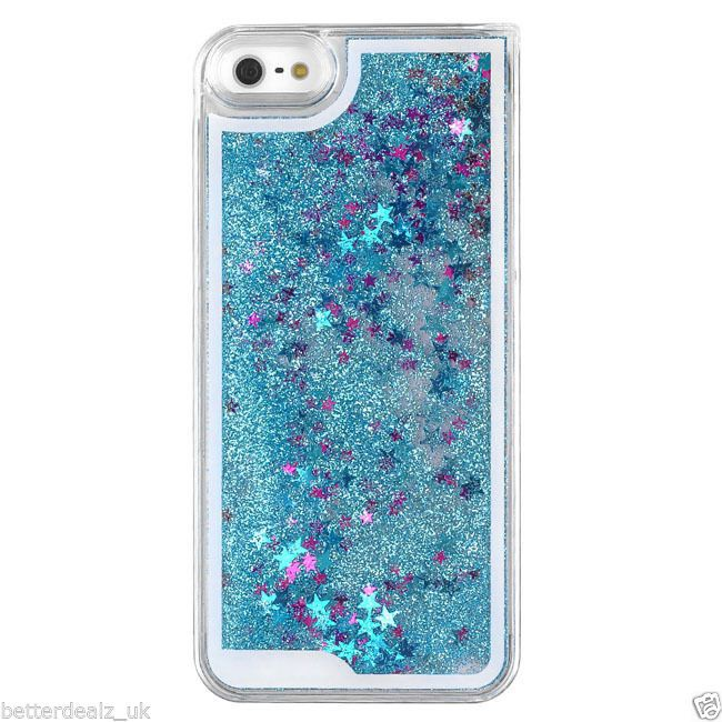 Glitter Liquid Quicksand Case For Fundas IPhone 5s 5 Case For