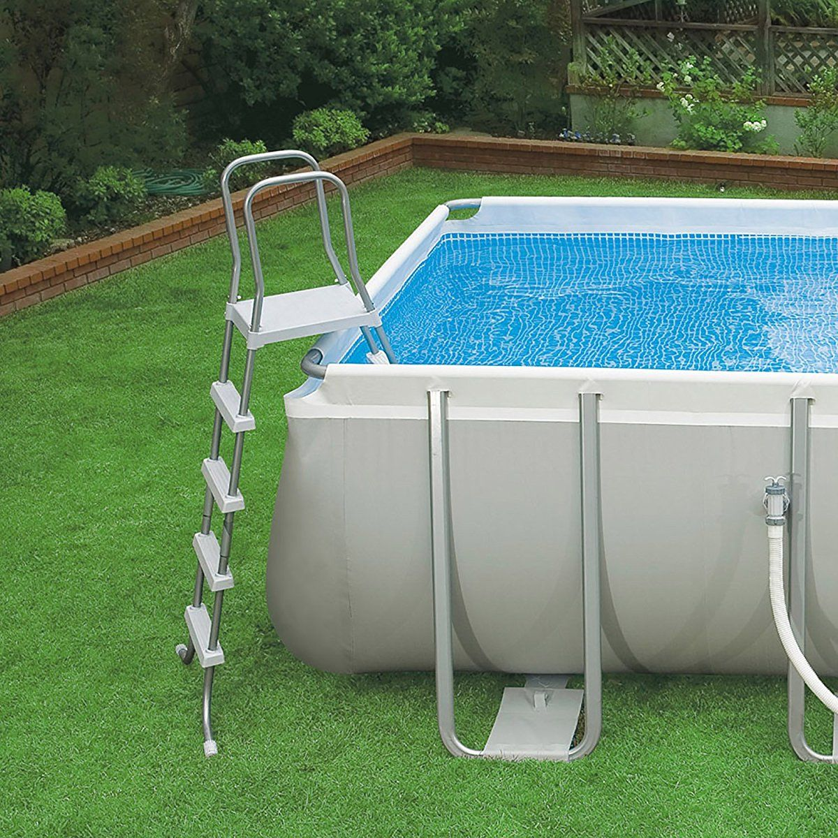 Aldi Intex Pool Intex 32ft X 16ft X 52in Ultra Frame Rectangular Pool Set With