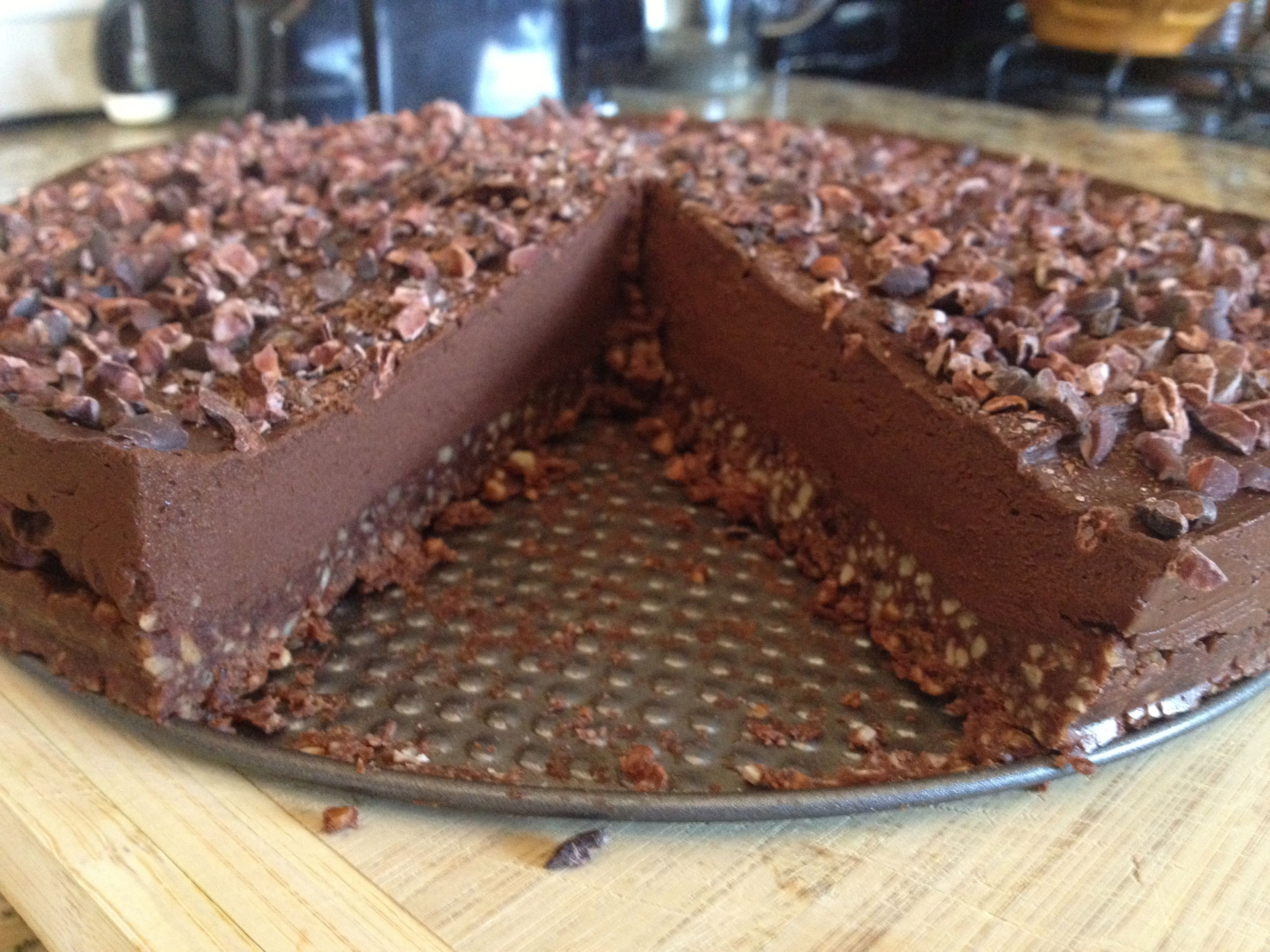 Raw recipes chocolate cake