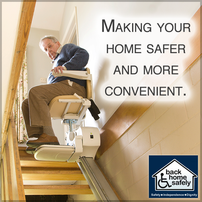 Stairs Can Be Difficult To Maneuver And Dangerous For The Elderly Or Disabled Stair Lifts Can Help Get You Up And Down Safe Stair Lifts Home Safety Home Safes