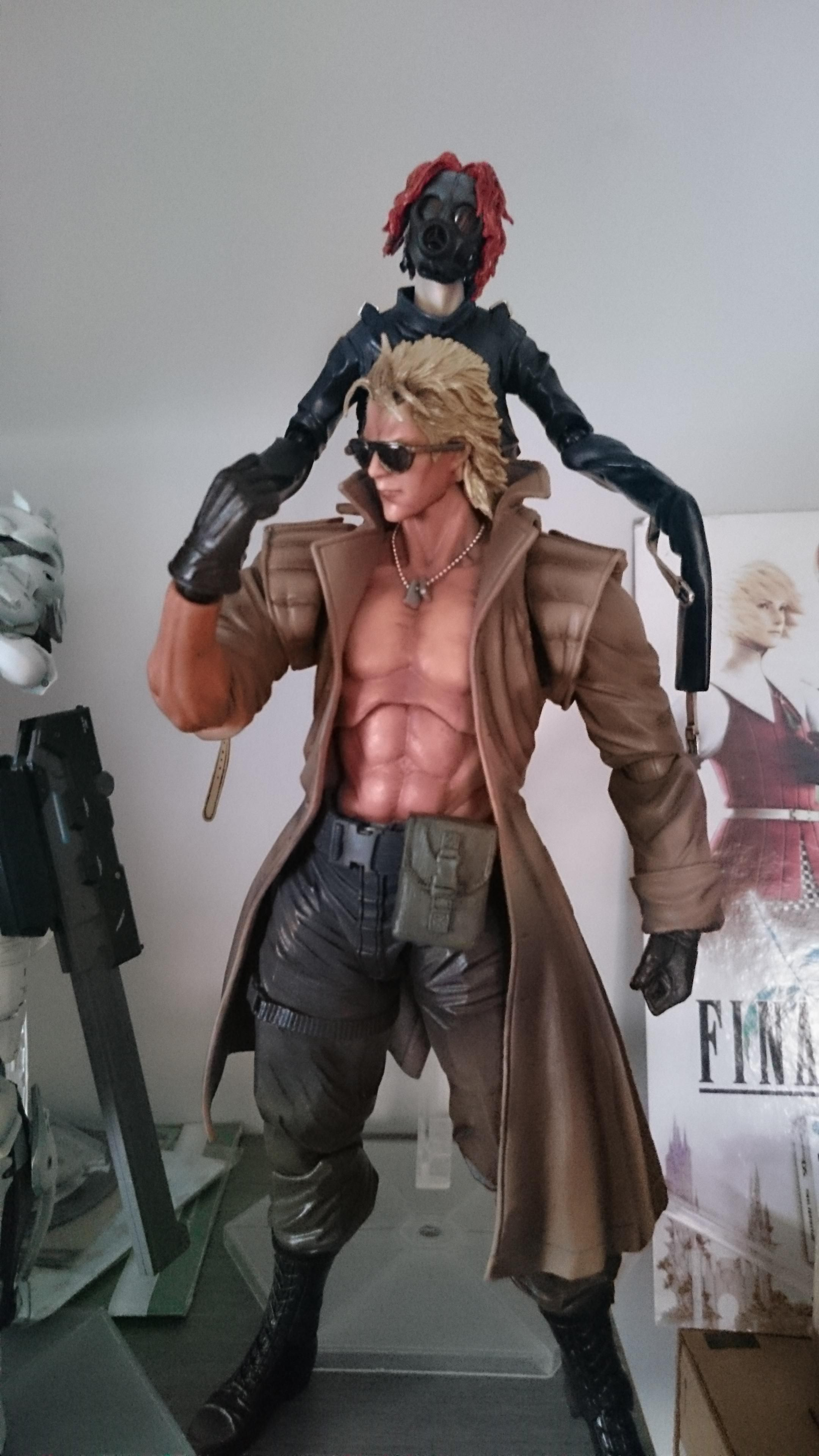 I Was Really Disappointed With The Face On My Liquid Snake Figure Until I Gave Him Kaz S Sunglasses Master Miller Metal Gear Metal Gear Solid Figure Model The hamburgers of kazuhira miller. metal gear solid