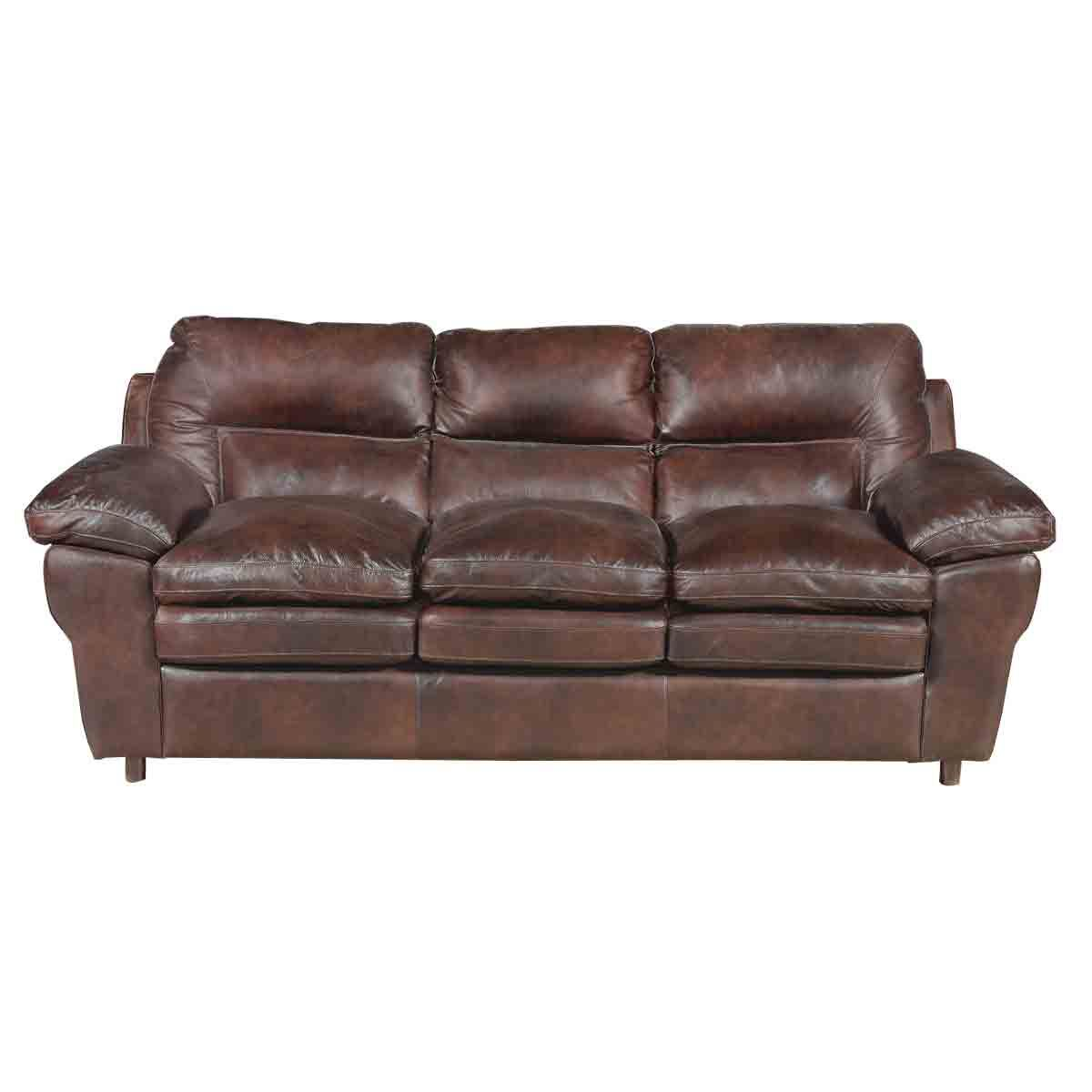 Sable Brown Leather Sofa Sleeper...so People Donu0027t Have To Sleep