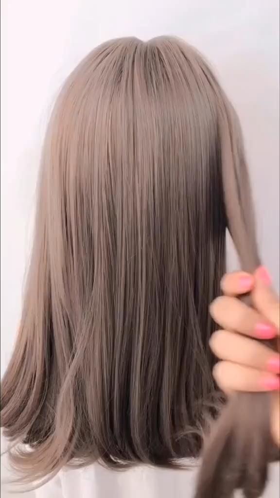 easy  quick hairstyle tutorial for long and medium length