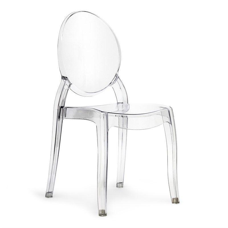 Sedia policarbonato Elisabeth simile Victoria Ghost #sedia ...