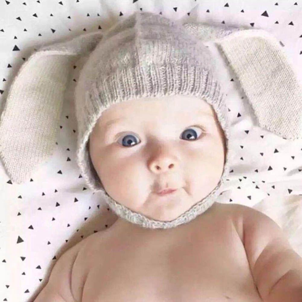 2025dc8636e 2.25AUD - Bunny Ear Hat Toddler Baby Kids Crochet Earflap Beanie Cap  ebay   Home   Garden