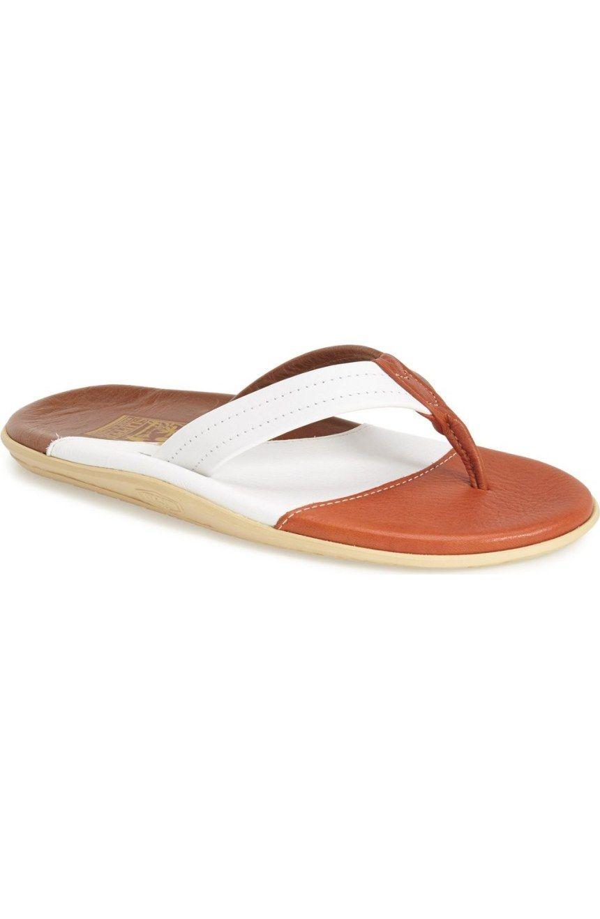c8b955341 ISLAND Slipper Leather Thong Sandal (Men)