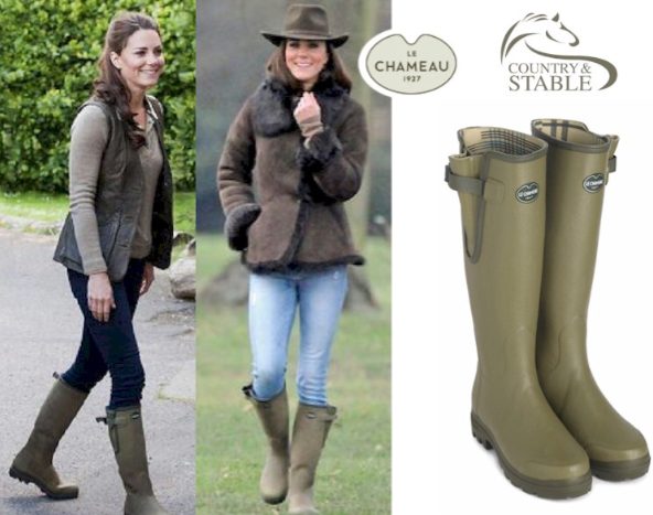 Le Chameau Ladies Vierzon Jersey Boot as worn by Kate