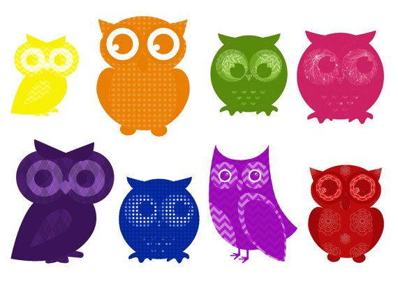 Digital Owl Tags for scrapbooking card making by BerryLovelyPixels, $2.00
