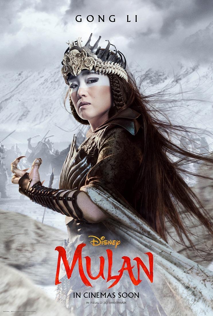 Disney S Mulan Gong Li As Xian Lang In 2020 Mulan Movie Mulan Gong Li