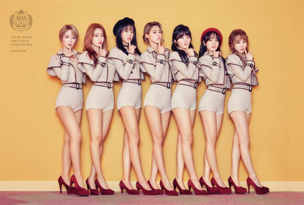 Aoa Members Reveal They Re Practicing 6 Hours A Day For Their First Solo Concert Seolhyun Garotas K Idols