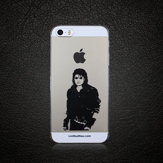 This Is It Michael Jackson Woodcut style Art Design beauty iPhone 5 Case iPhone 5s Case Cell Phone Case Cover Ultra slim light weight design on Etsy, US$26.99