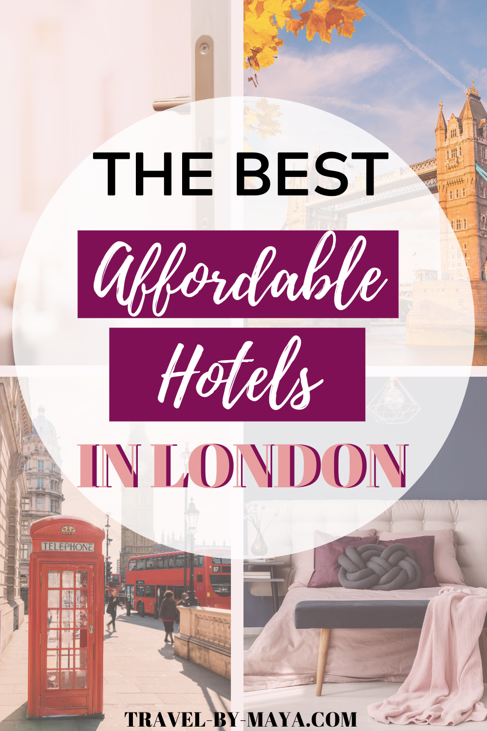 Do you want to know how to travel London on a budget? Stay at an affordable hotel! Click through for a full list of the best affordable hotels in London! #londonhotels #londononabudget #travellondon