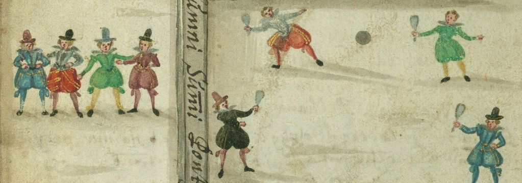 Boys will be Boys: Playing Around in a 17th-Century Friendship Book | The Public Domain Review