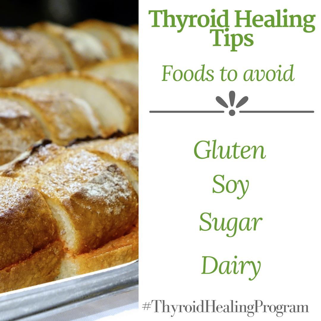 Here is a list of foods you should avoid if you have a thyroid