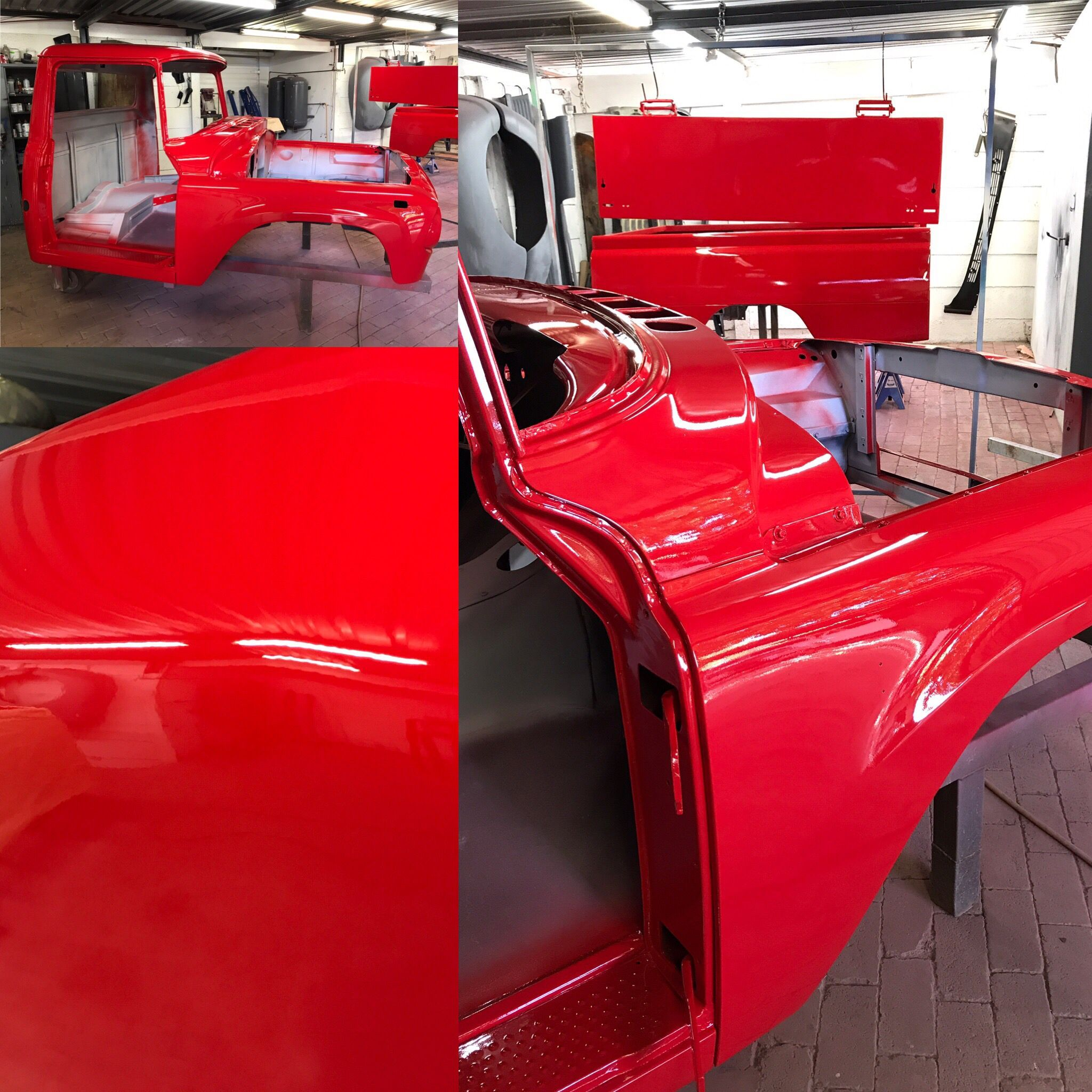 The 908 international in VW Flash red is coming along nicely  Next