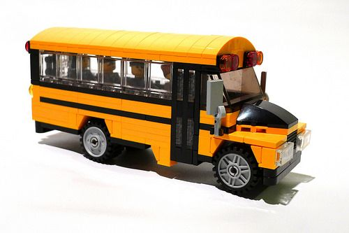 Lego How To Build A Small Double Decker Bus