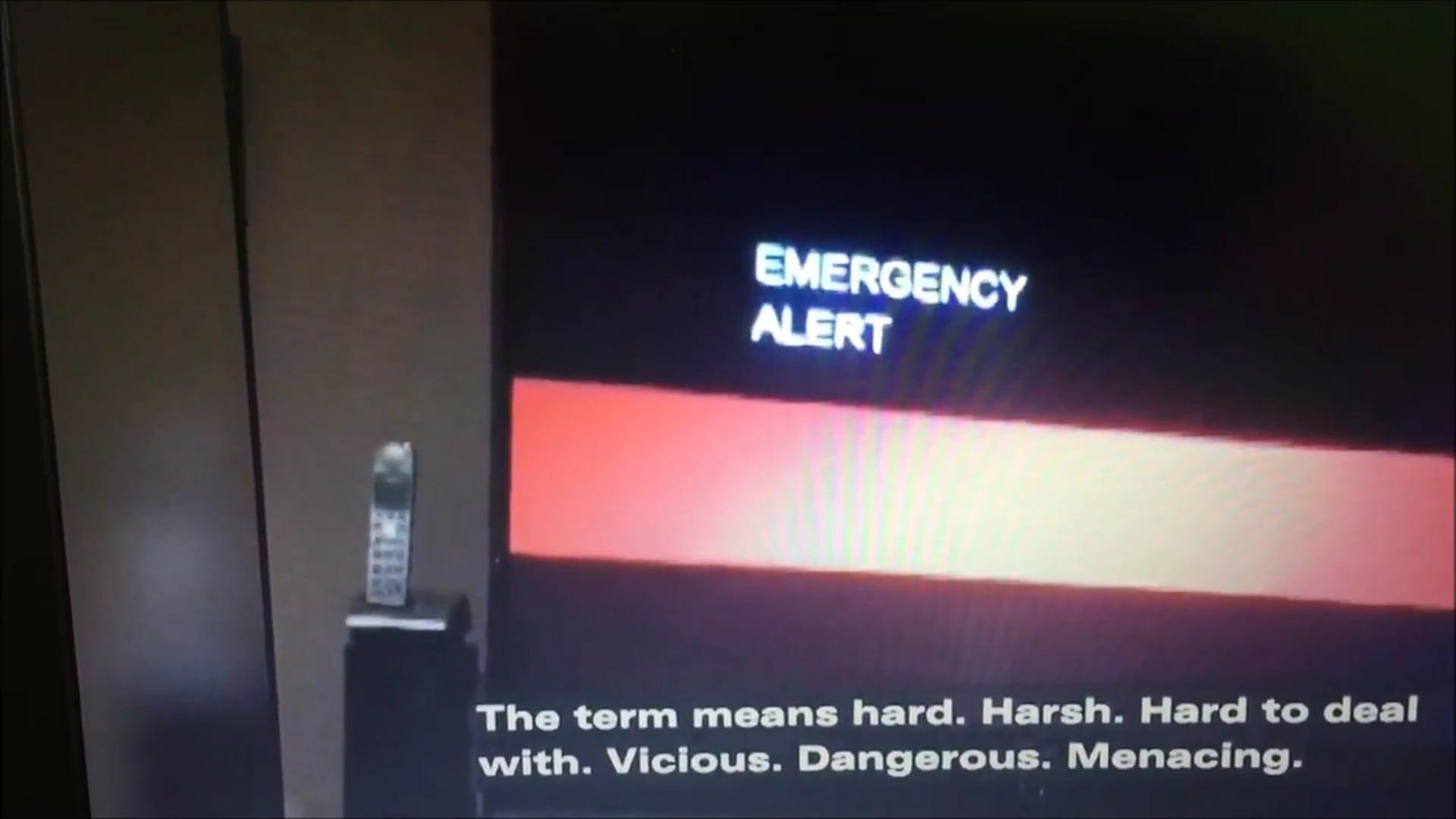 Bizarre Emergency Alert In California Warning End Of The World End Of The World Emergency Mysterious Secrets