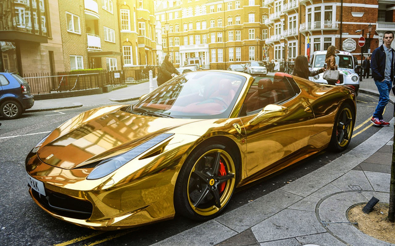 Pictures Of Golden Luxury Cars Golden Cars Pinterest - Cool fancy cars