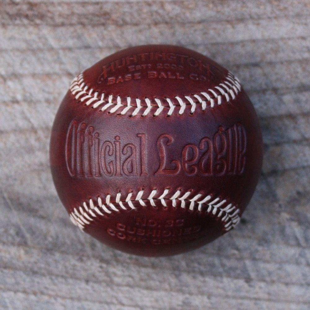 Image of Tobacco Veg Tanned Baseball