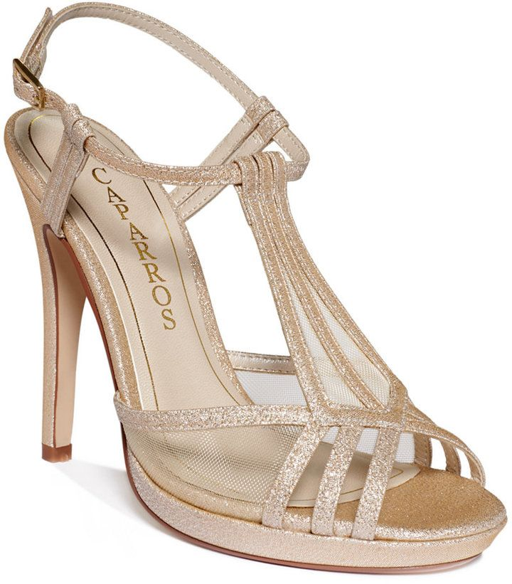 Caparros Lucky Platform Evening Sandals