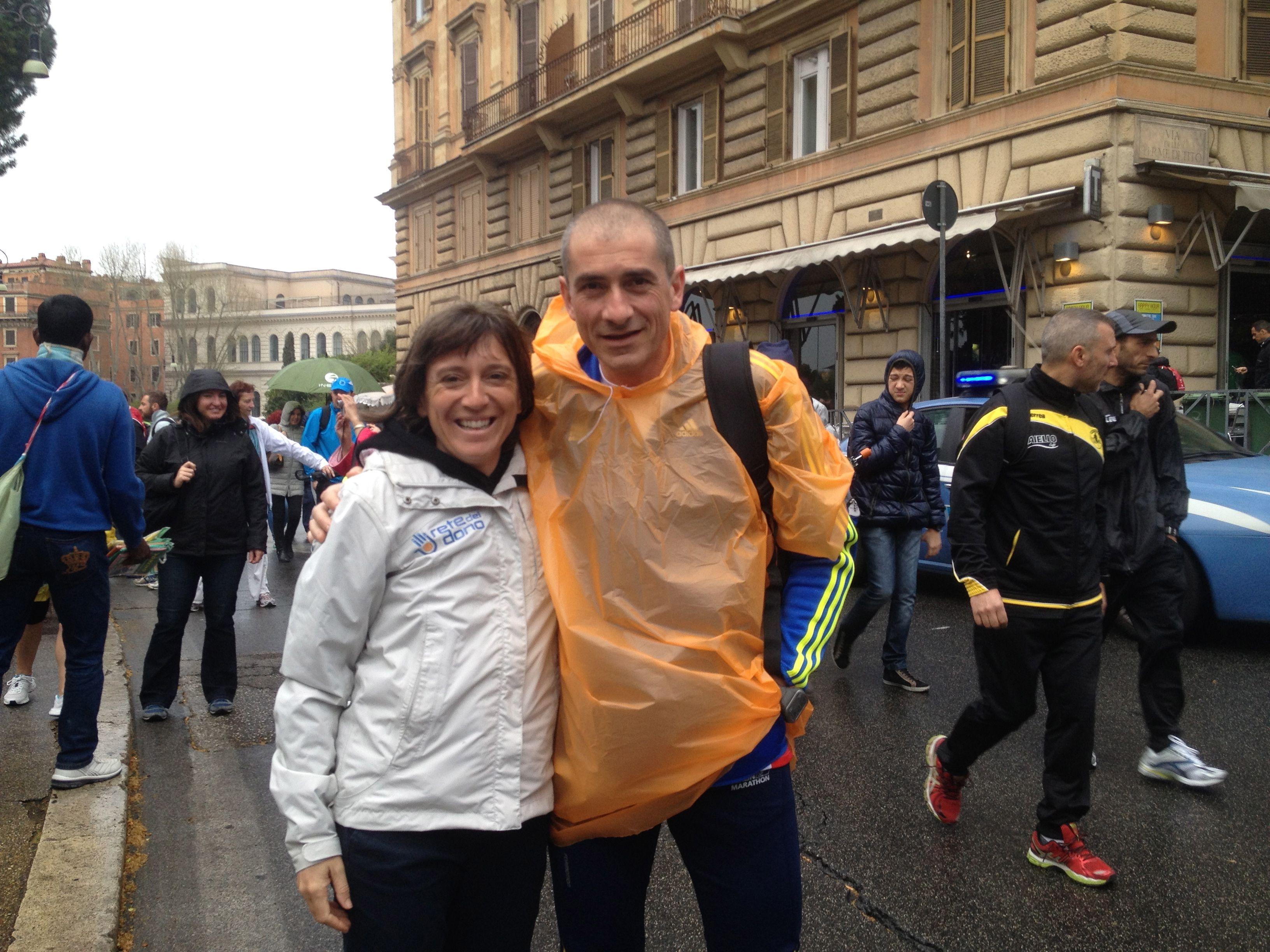 Anna Siccardi e Andrea Cosa #maratonadiroma