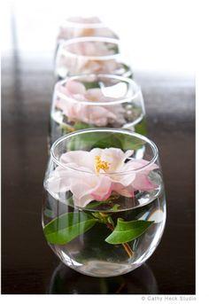 Como Fazer Arranjos De Flores Em Vasinhos Arranjos De Mesa
