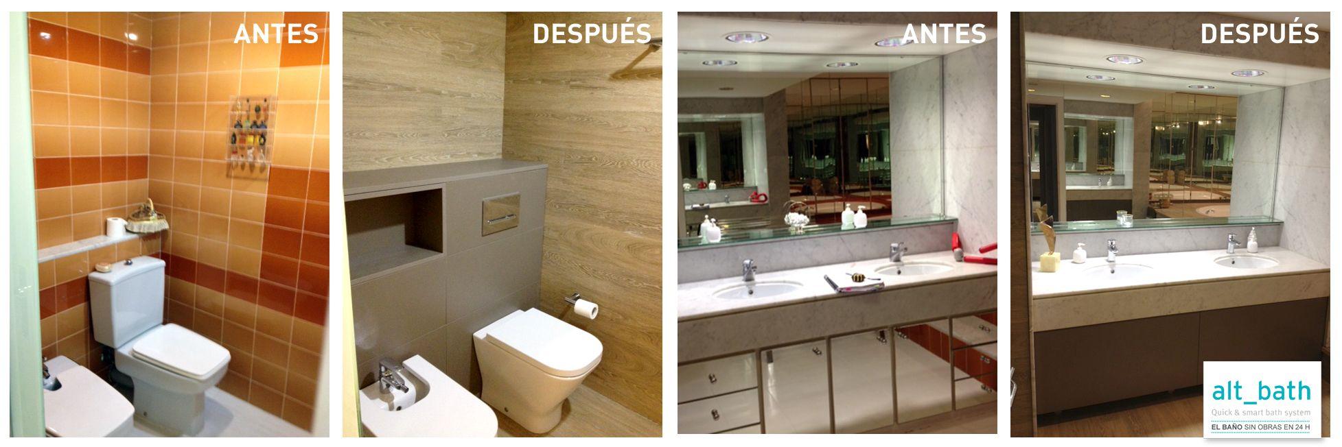 Alt_bath rehabilita un baño  de grandes dimensiones en Pedralbes