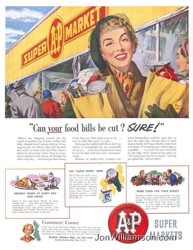 Vintage Grocery Store Advertising Google Search Grocery Ads Vintage Ads Grocery